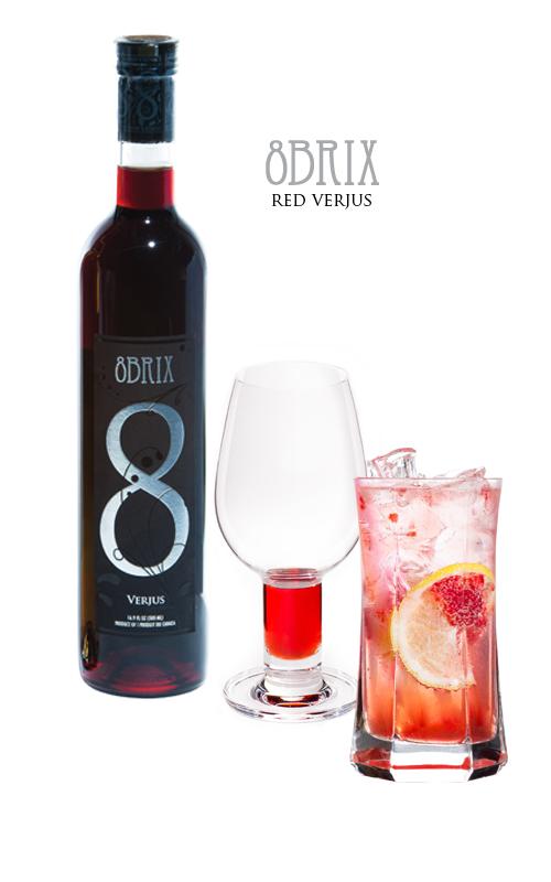 8 Brix Verjus Red