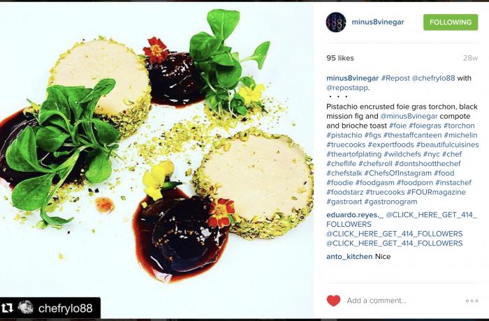 Pistachio Encrusted Foie Gras Torchon