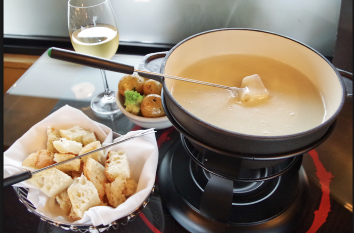 Cheese Fondue with White Verjus