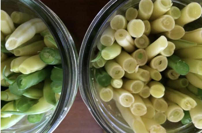 Pickling Beans with Veget8 Vinegar