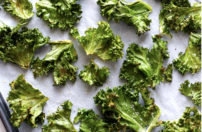 SEA SALT AND L8 HARVEST VINEGAR KALE CHIPS