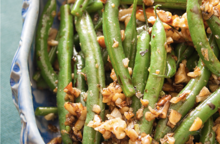 Green Bean with Walnuts and Dehydr8 Vinegar