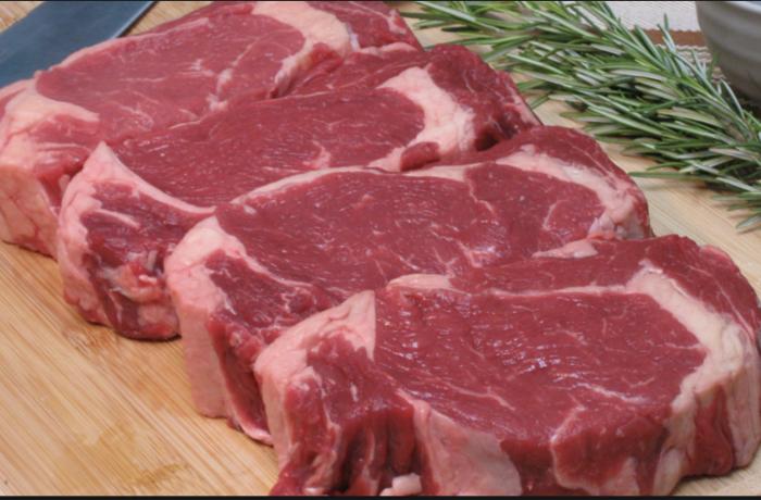 Ribeye Steaks with Minus 8 Vinegar